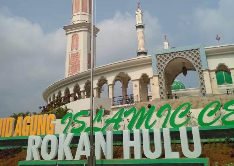 Masjid Agung Madani Termegah
