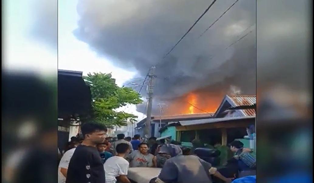 7 Rumah di Makassar Terbakar