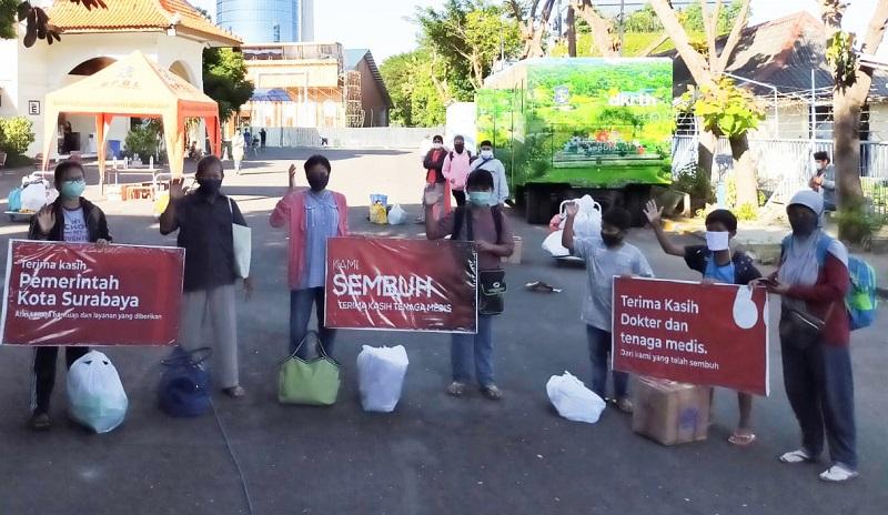 Angka Pasien Corona Sembuh di Surabaya 3.580 Orang