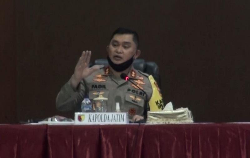 Kapolda Jatim Minta Kepala Daerah Sinergi Tangani Covid-19
