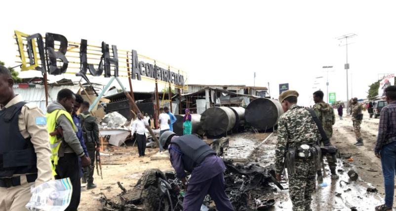 Konvoi Panglima Militer Somalia Dibom