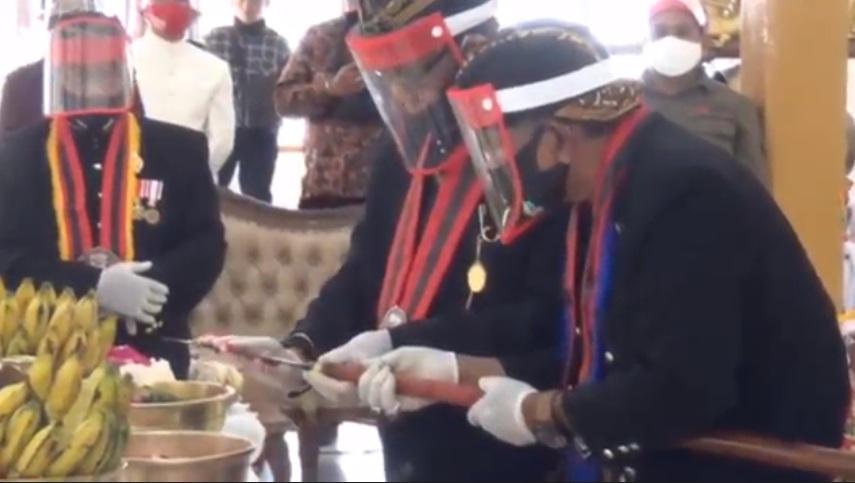 Jamasan Pusaka Sambut Hari Jadi Ngawi