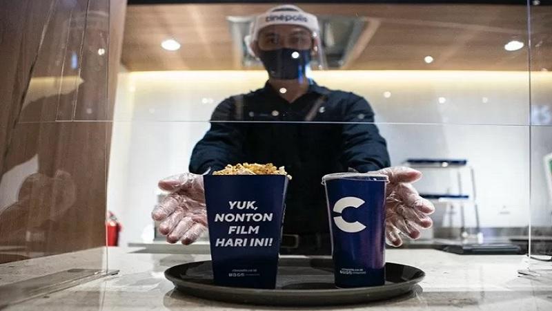Begini Penyajian Baru Popcorn Bioskop Cinepolis