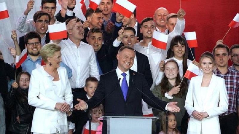 Duda Menang Pemilihan Presiden Polandia