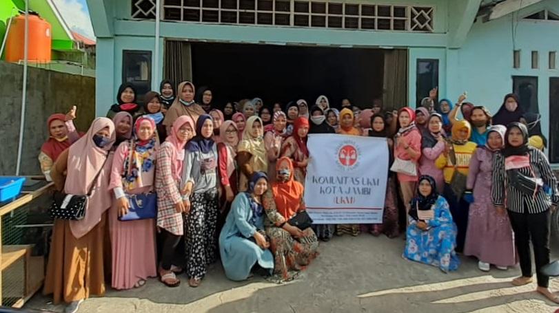 Komunitas UKM Kota Jambi Songsong New Normal