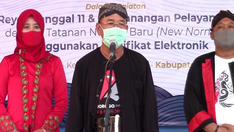 Pemkab Ponorogo Launching Tanda Tangan Elektronik