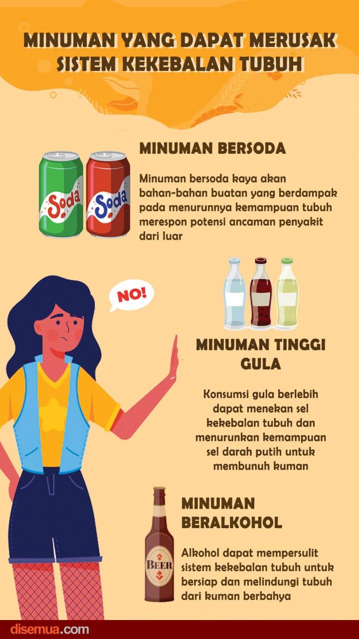 Minuman Perusak Imunitas Tubuh