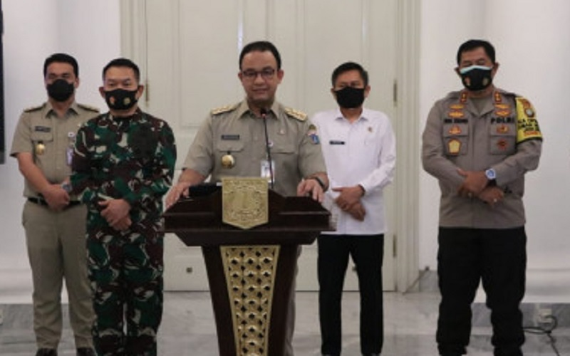 Berikut Aturan PSBB Total DKI Jakarta
