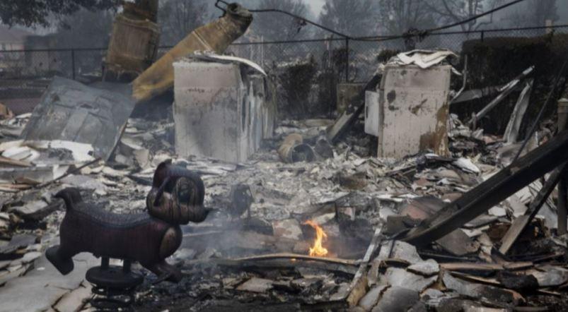 Kebakaran Hutan di AS Sudah Tewaskan 32 Orang