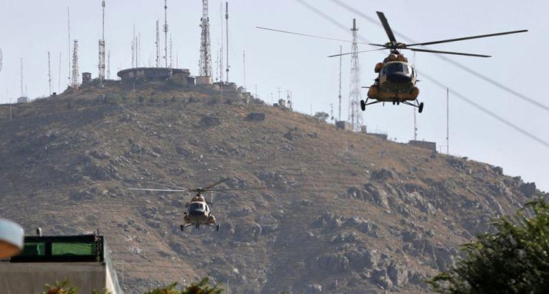 2 Helikopter Afghanistan Tabrakan