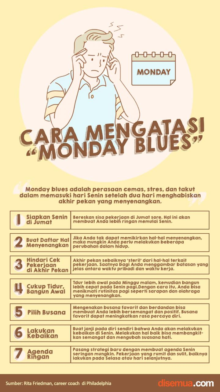 Cara Mengatasi Monday Blues
