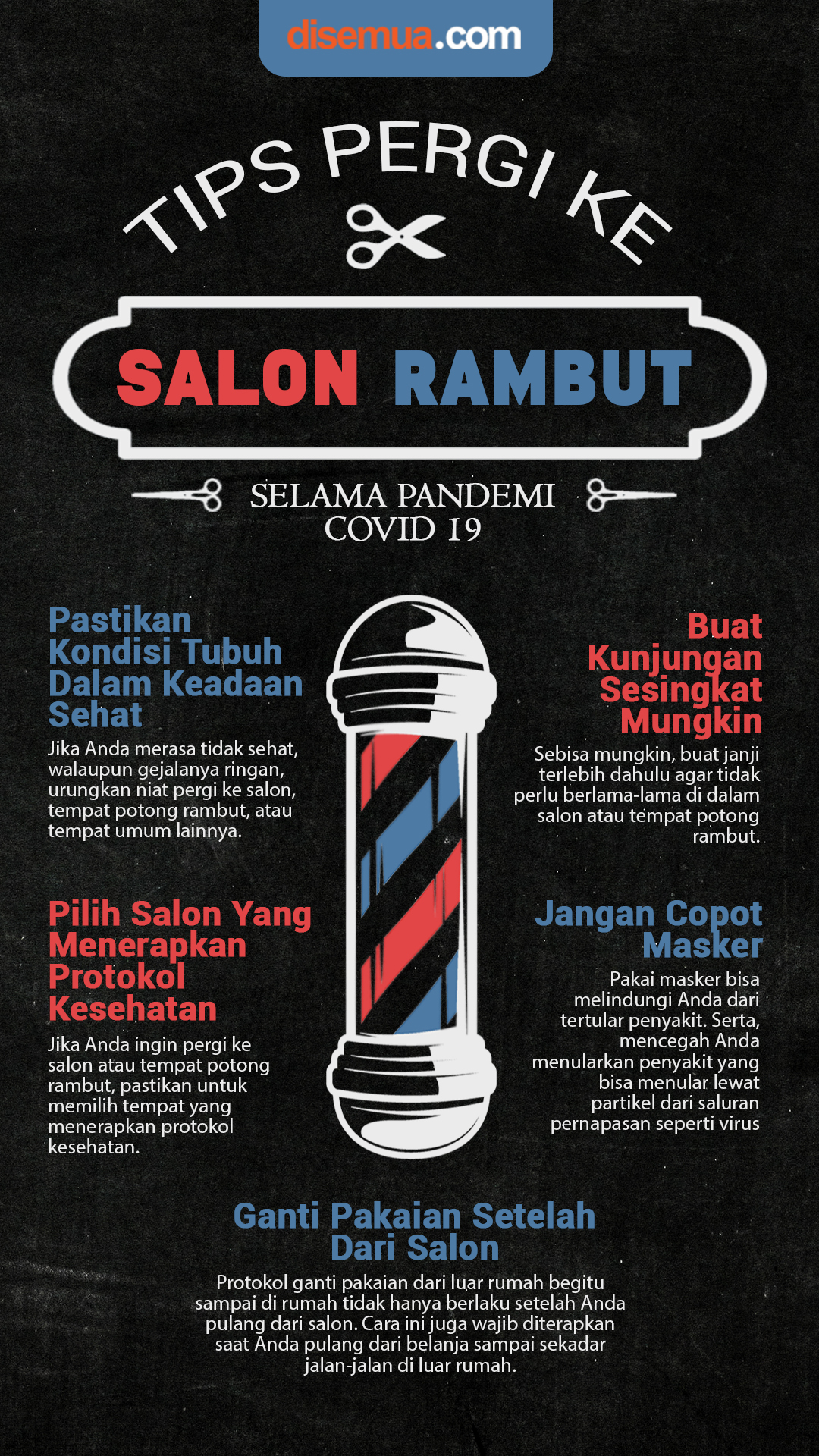 Tips Pergi ke Salon Rambut