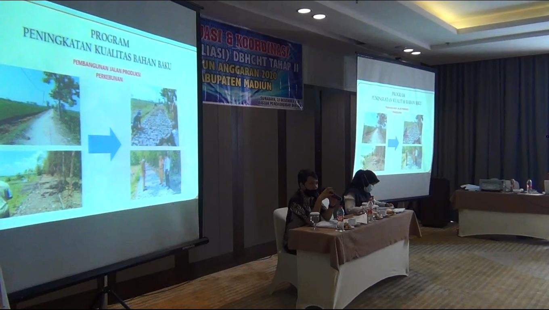 Serapan DBHCT Kabupaten Madiun Capai 73 Persen