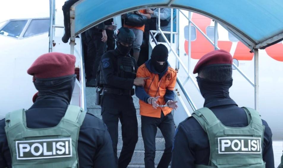 26 Terduga Teroris Ditahan di Cikeas