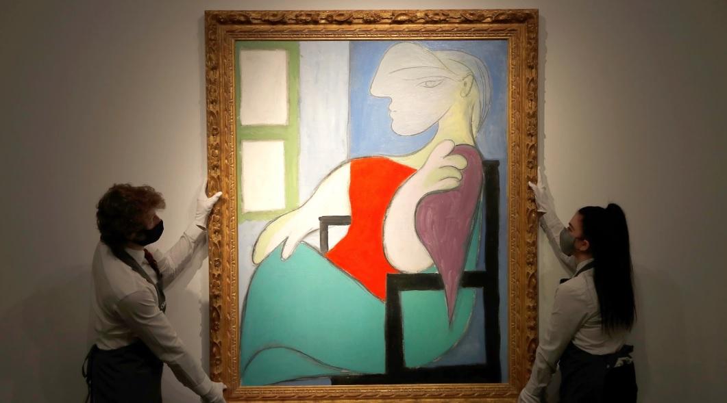 Lukisan Picasso Terjual Rp1,48 Triliun