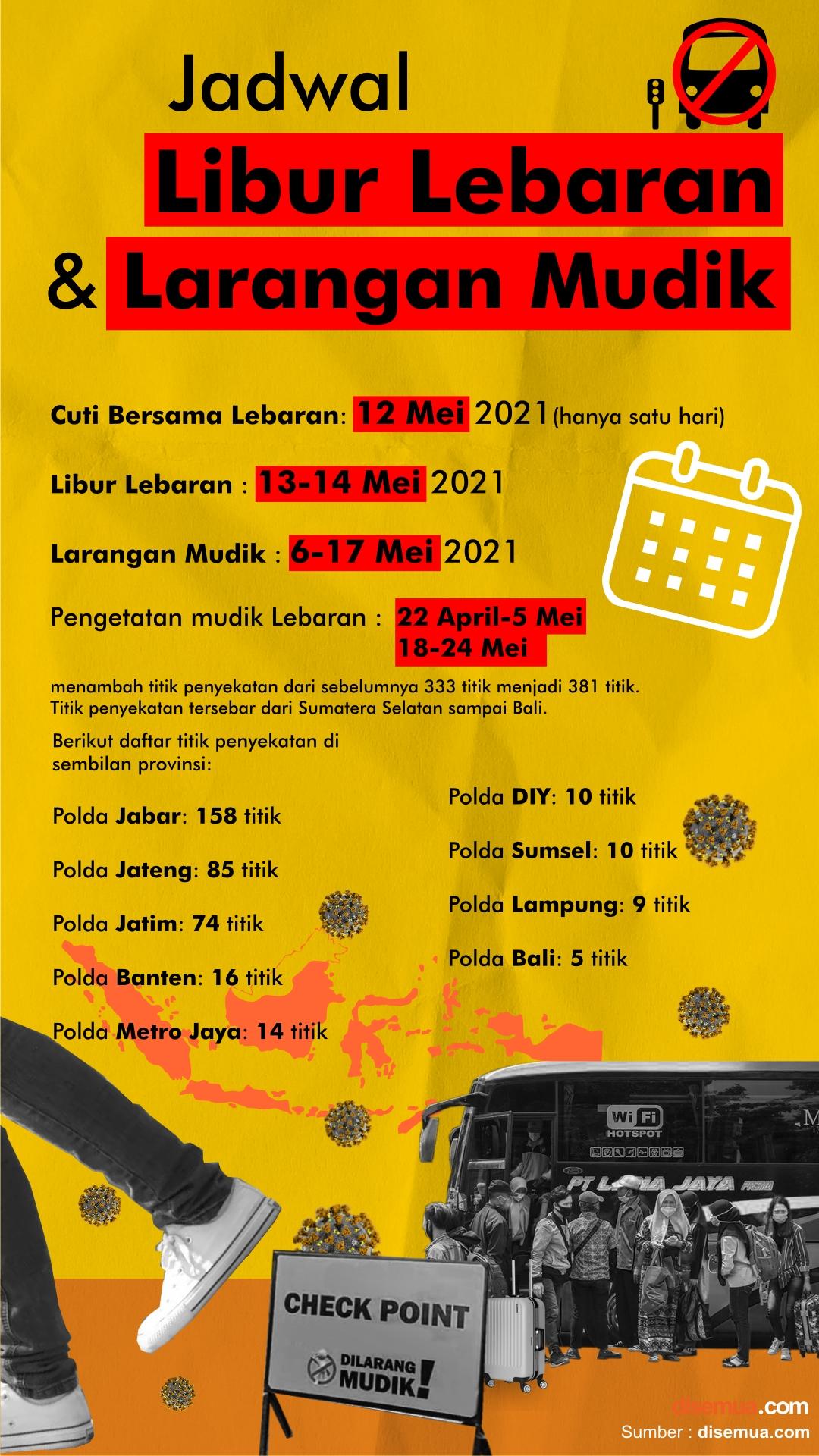 Jadwal Libur Lebaran