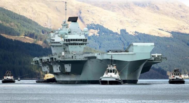 Tahan Ekspansi Tiongkok, Inggris Kirim 2 Kapal Perang