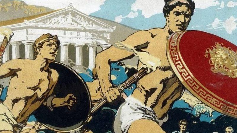 Olimpiade Kuno, Ditonton Perempuan Lajang (1)