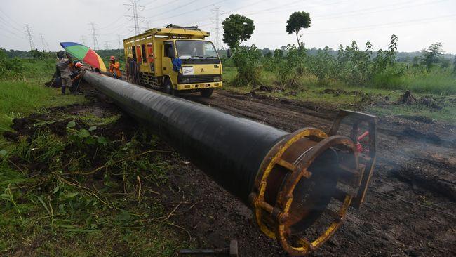 Pipa Gas Gresik-Semarang Siap Beroperasi