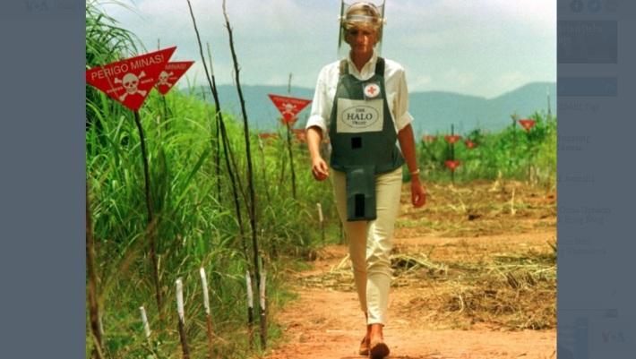 Mengenang Keberanian Putri Diana