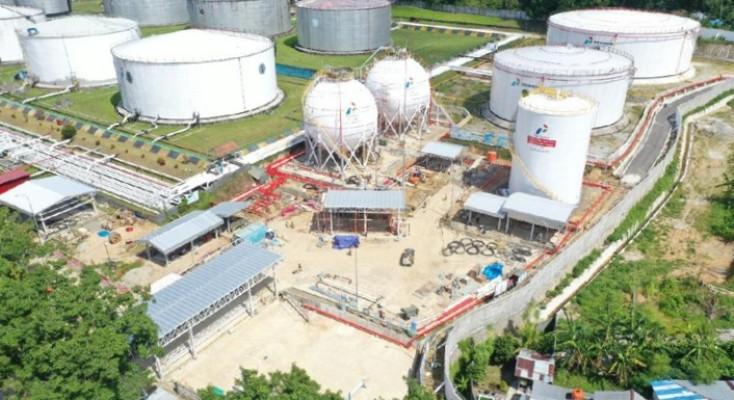 Proyek Terminal LPG Wayame Libatkan 223 Perusahaan